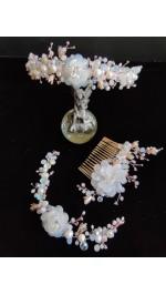 Луксозни булчински бижута и украси за коса ExclusiveRose™