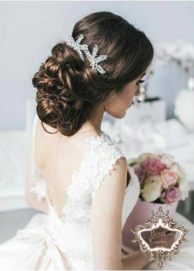 Дизайнерски фуркети- украса за коса с кристали Sea Stars by Rosie