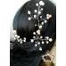 Комплект Фуркети - украса за коса с перли и кристали Shadow of Roses