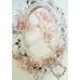 Kомплект от 3 броя фуркети и нежна дизайнерска гривна Rose Crystal Garden