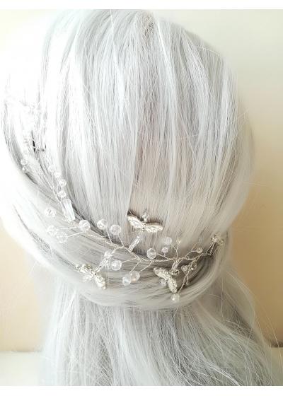 Сватбена кристална украса за коса Magic Dragonflies by Rosie