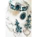 Корона в тъмен тюркоаз - Dark Turquoise Rose by Rosie Concept
