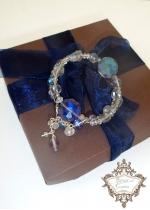 Уникална гривна от Сваровски кристали Heaven by Rosie