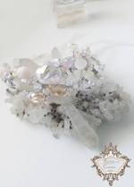 Кристална гривна за булка и абитуриентка Infinity Blush by Rosie
