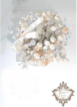 Кристална гривна Handmade by Rosie Concept модел Golden Shine