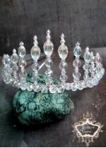 Дизайнерска тиара с кристали Сваровски Queen of Atlantis
