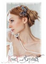 Цветни дизайнерски фуркети за коса с кристали и перли