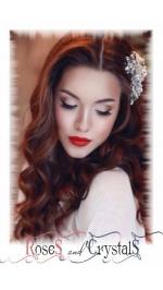 Корони, диадеми и украси за коса с камъни, перли и кристали