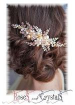 Кристални гребени - бижута за коса за абитуриентски бал и официални поводи