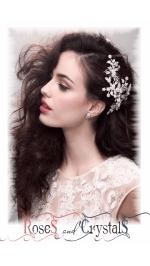Сватбени гребени - аксесоари за коса